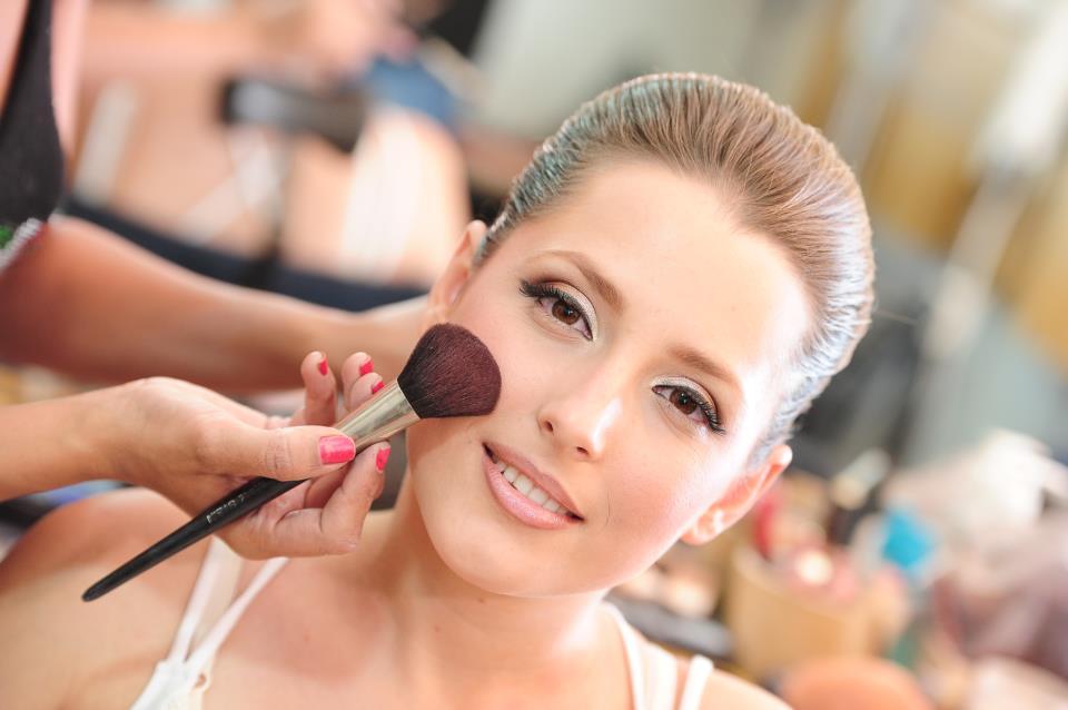 Evening makeup in Jerusalem - Fanni Arev